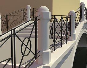 3D model Venice Bridge with Artistic Exterior