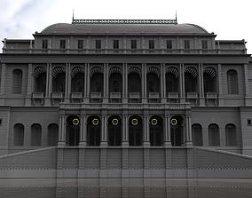 19th Century Building WIP 3D model
