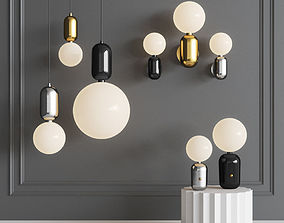 Parachilna Aballs Lamp Set 3D model