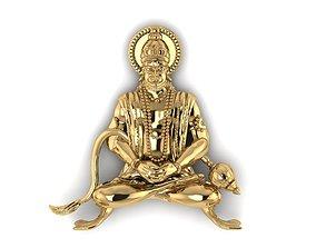 Hindu God Hanuman JI 3D print model
