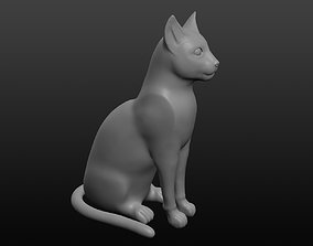 Ancient Egyptian cat 3D model