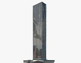 3D Aqua skyscraper