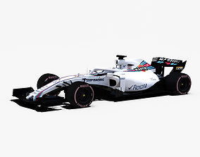 Williams FW41 Car 3D model