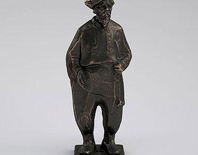 3D model Slavic Grandpa Statue