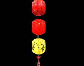red 3D Chinese Red Lantern