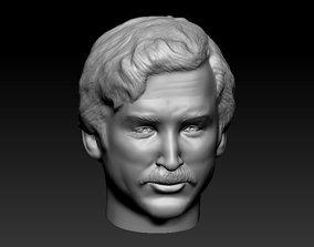3D print model Male head 20