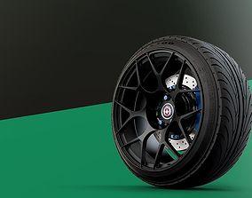 3D HRE Monoblock automotive -RIM ONLY-