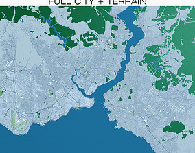 Istanbul with Terrain 3D