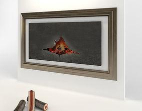 3D Omegafocus fireplace Focus