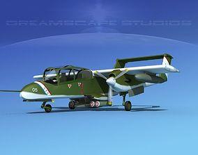 Rockwell OV-10 Bronco USMC 1 3D