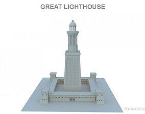 3D model Great Light House of Alexandria