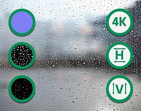Raindrops Texture 2 3D PBR