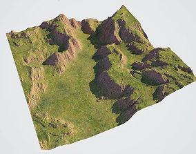 grass Detailed Canyon Model - Grass