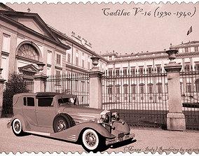 3D Cadillac V-16
