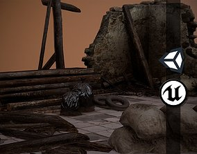 Rubble and Debris - Collection 2 3D asset realtime