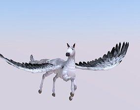 3D model pegasus
