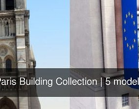 Paris Building Collection 3D model
