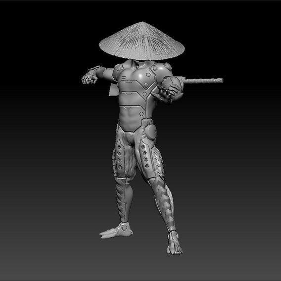 Cybernetic Monk Printable Model Final