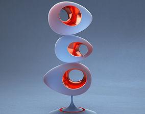 3D print model Egg sculpture