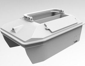 3D printable model RC Bait boat for carpfishing