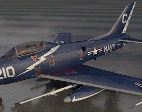 3D North American FJ-3 Fury