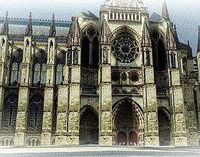 Catedral de Reims 3D