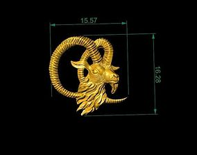 Golde Goat For Pendants And House 3D printable model 2
