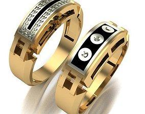 MAN RING ring 3D print model