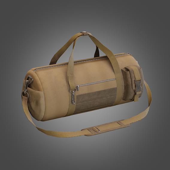 Soldier Sport Bag Lowpoly Pbr