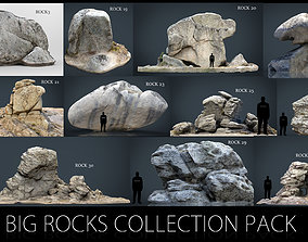 3D model Big Rocks Collection Pack
