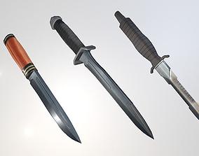 3D model Modular Knife Pack
