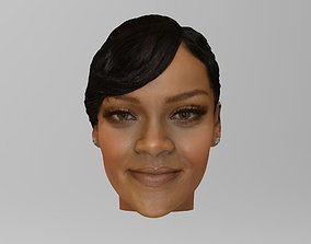 woman Rihanna 3D
