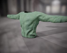 3D asset Sweatshirt 13