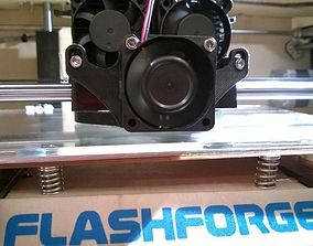 Flash Forge Cooling Fan Duct 3D printable model