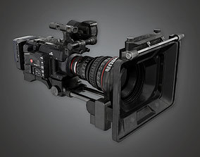 3D asset HD Production Camera HLW - PBR Game Ready