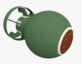 Bomb 3d model explosion