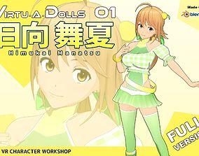 3D model Virtu-A-Dolls 01 Himukai Manatsu - Full Version