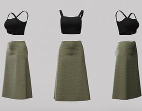 3D model Female Clothing 12