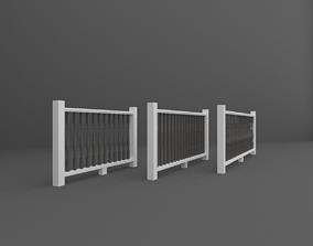 3D model Fences