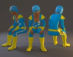 3D model Cosplay Female BCC 2130 007