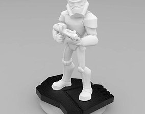 Stormtrooper figurine 3D print model figurines