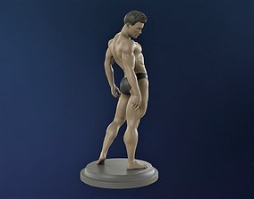 Bodybuilder in greco-roman pose 3D print model