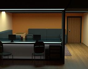Company Reception 3D asset