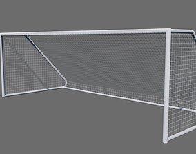 3D asset Football Soccer Goal