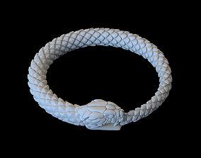 3D printable model snake cobra