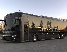 Scania bus tour bus model for CGI and 3D