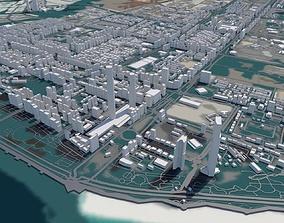 Abu Dhabi City 3D model