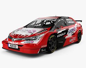 3D Toyota Corolla STC 2000 2018