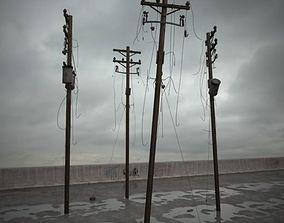 3D destroyed poles 082 am165