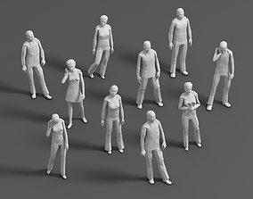 Lowpoly People 01 3D